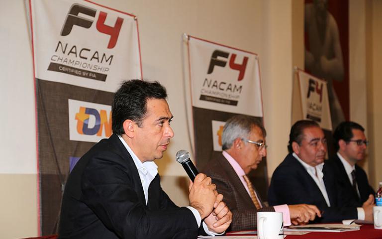 Presentan en CODEME la FIA Formula 4 NACAM Teletón Puebla